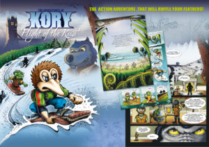 Kory - Flight of the Kiwi - Online Resources - Wallpaper