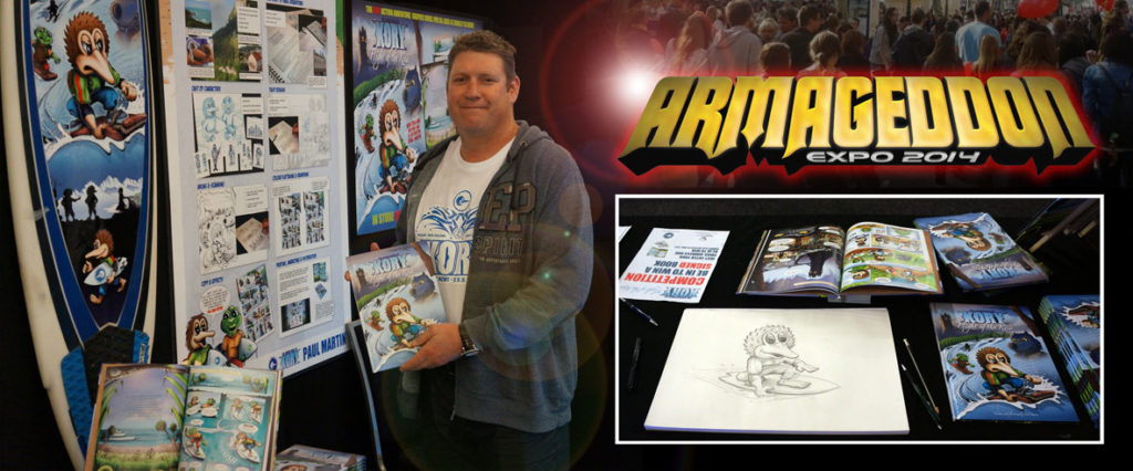 Kory - Flight of the Kiwi - Kory at Armageddon Expo Hamilton 2014