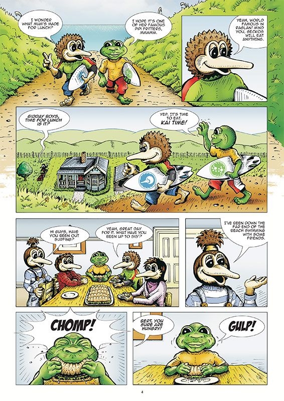 Kory - Flight of the Kiwi - Book Preview 4